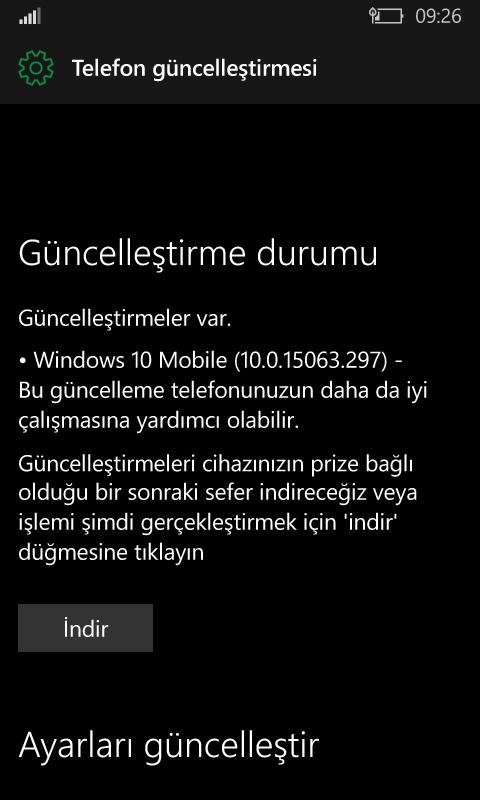 dGo6y4 - Creators Güncellemesi Almayan Lumia Cihazlara Creators Sürümünü Yükleme