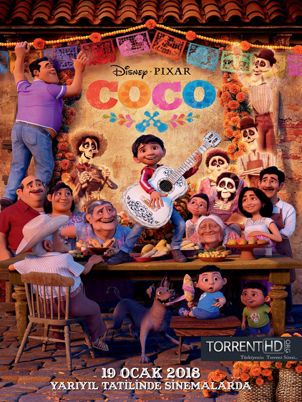 Coco (2017) Türkçe Dublaj 720p Torrent İndir