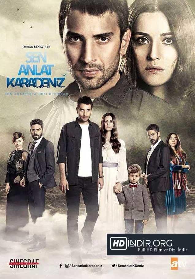 Sen Anlat Karadeniz 18. Bölüm indir (23.05.2018) Yerli Dizi 720p Ücretsiz Tek
