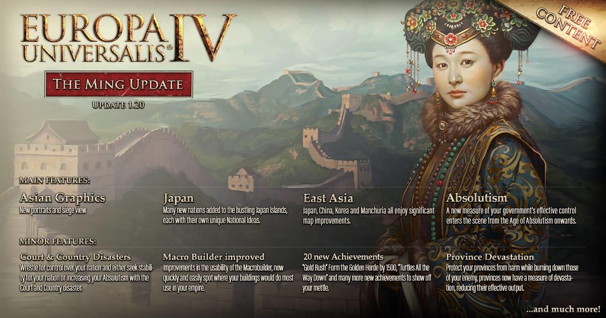 EUIV - Ming Yaması (1 20) - EU4 - Haberler - Paradox Interactive Türkiye