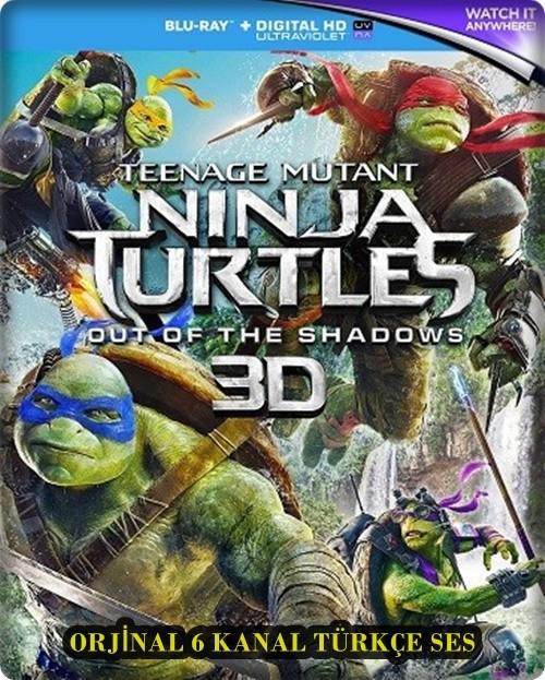 Ninja Kaplumbağalar: Gölgelerin İçinden 2016 3D Half-SBS 1080p BluRay DUAL (TR-EN)