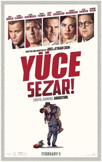 Yüce Sezar! - Hail, Caesar! | 2016 | BRRip XviD | Türkçe Dublaj - Teklink indir
