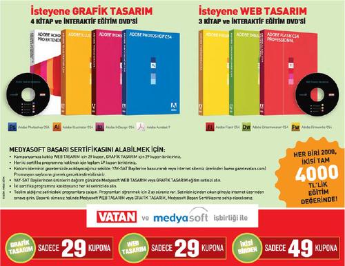 Web Tasarım + Grafik Tasarım Eğitim Seti Türkçe | Yandex Disk İndir