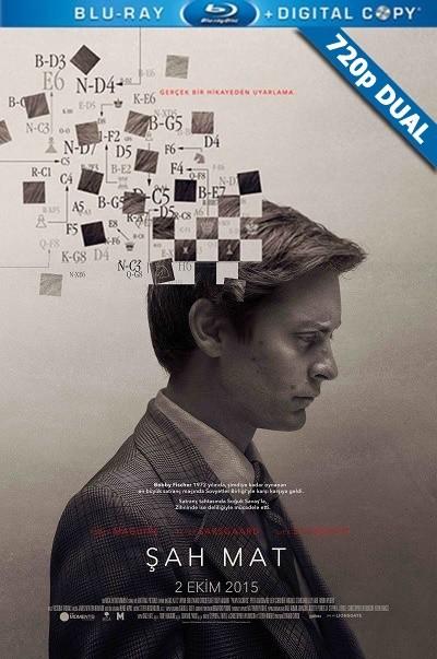 Şah Mat - Pawn Sacrifice | 2014 | BluRay 720p x264 | DUAL TR-EN - Tek Link