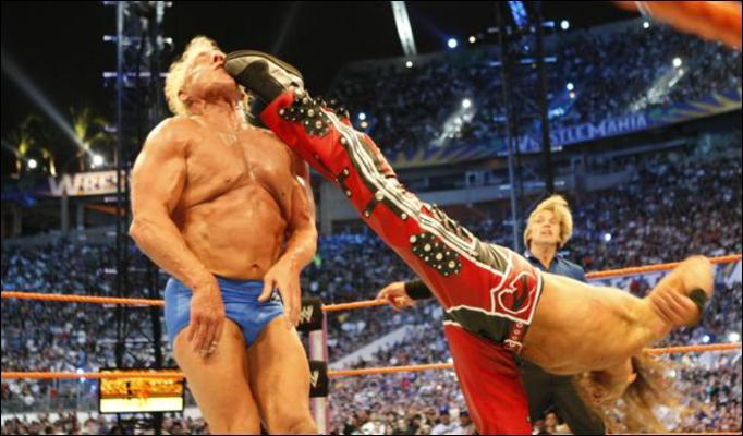 Flair Vs Hbk