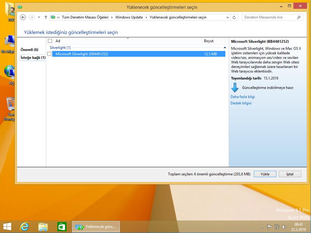 Windows 8 1 Em ind  Pro & Pro Vl X64 2019 Mart Uefi - Windows 8 - TNC-TR