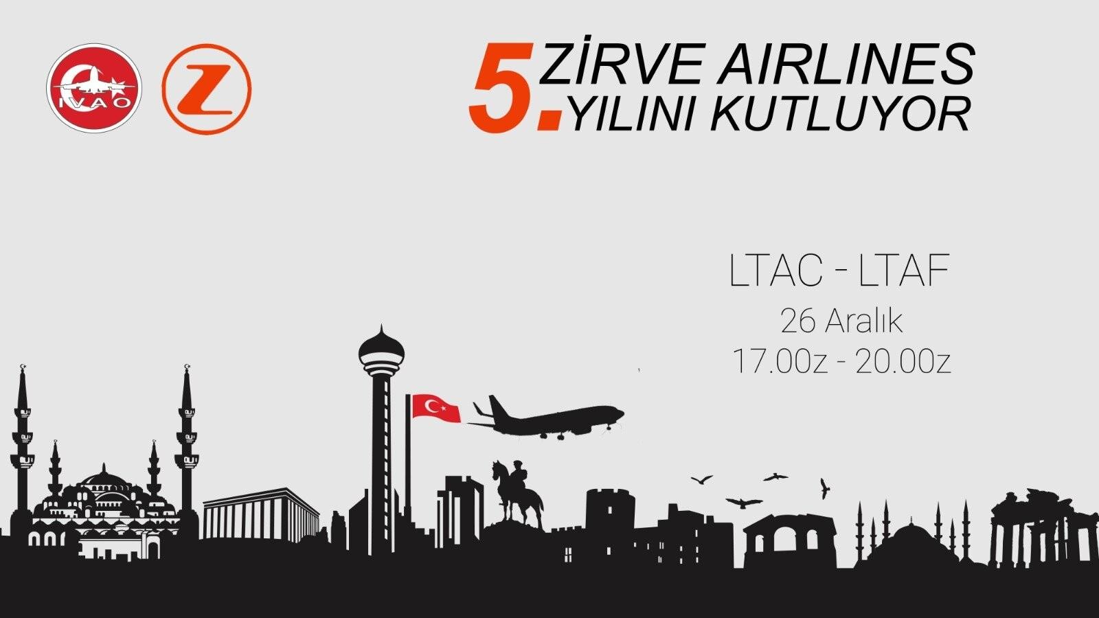 Zirve Airlines 5.Yaşında