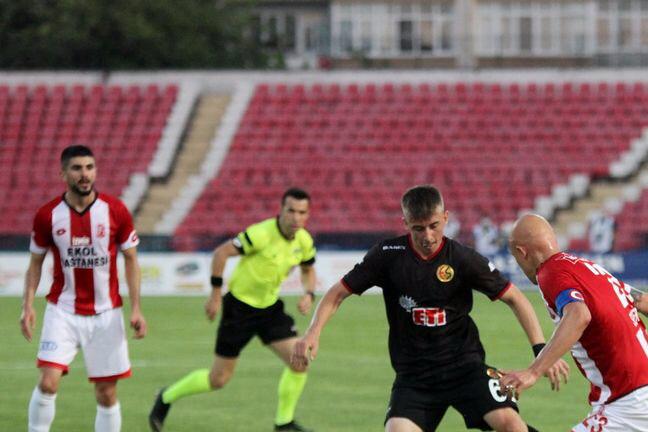 Balıkesirspor 2 - 0 Eskişehirspor