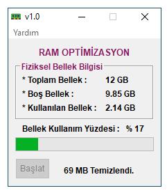 Ram Optimizasyon v1.0