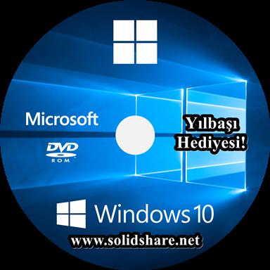 Windows 10 Pro Yılbaşı Hediyesi TR | x64 | 1909 - Güncel | SolidShare