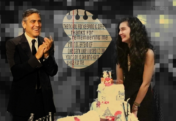George Clooney and Tuba Buyukustun Photoshopped Pictures - Page 19 EklrYq