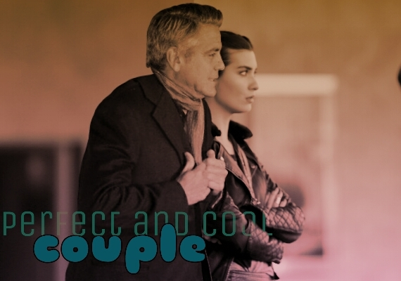 George Clooney and Tuba Buyukustun Photoshopped Pictures EoL9Xb