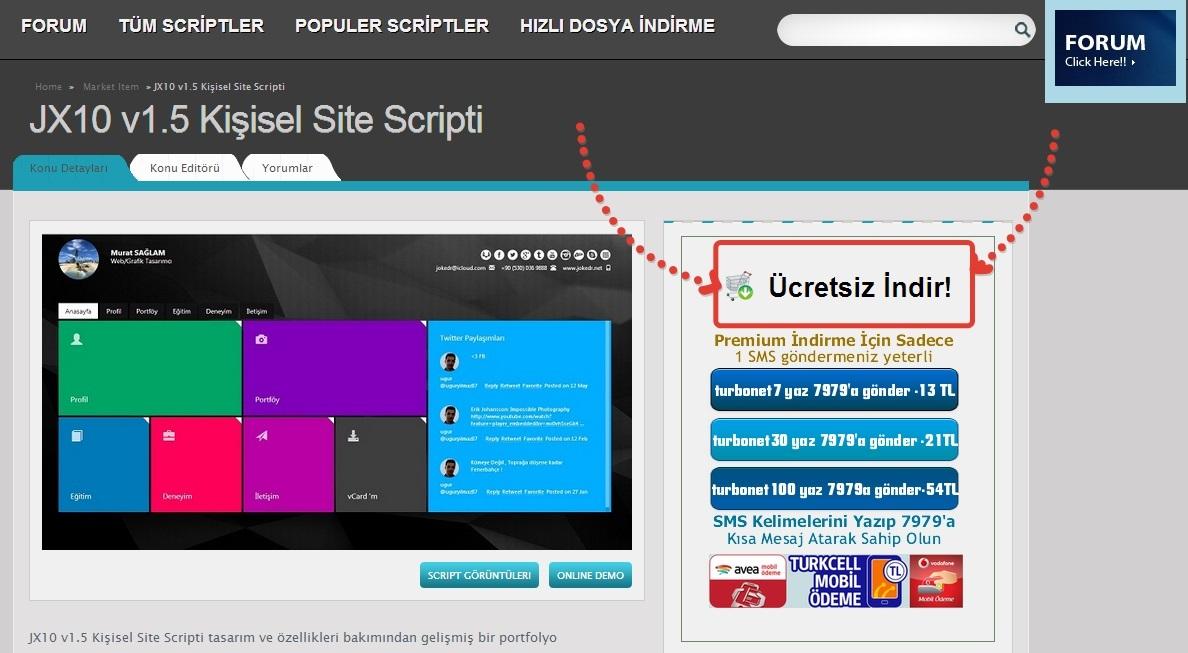 Jx10 v1 5 kişisel site scripti