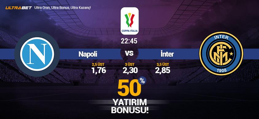 Napoli - Inter Canlı Maç İzle