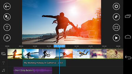 PowerDirector – Video Editor v4.1.0 [Unlocked] | APK İndir