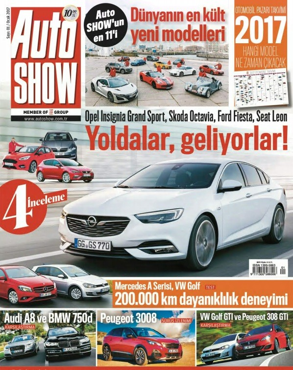 Auto Show Ocak 2017