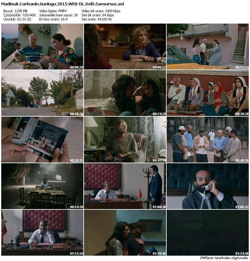 Madımak: Carina'nın Günlüğü 2015 (Yerli Film) WEB-DL XviD