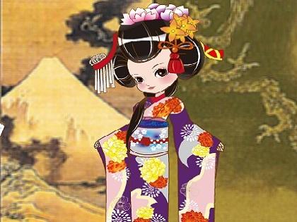 Japon Prensesi Giydir Oyunu