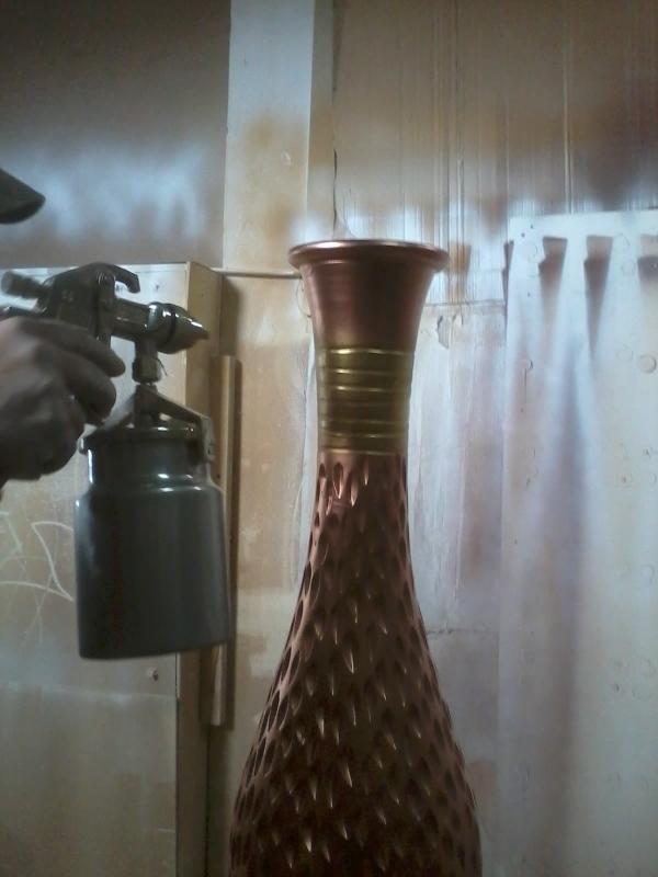 Vazolar�m� dekoratif hale nas�l getirebilirim, tamirini ve boyas�n� nas�l yapabilirim