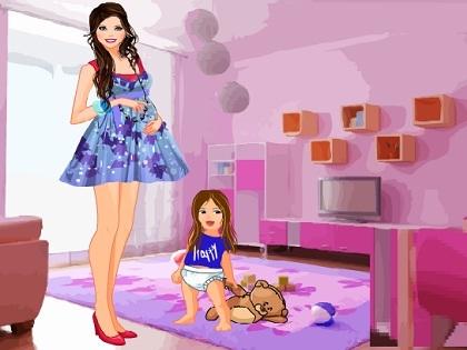Hamile Barbie Oyunu