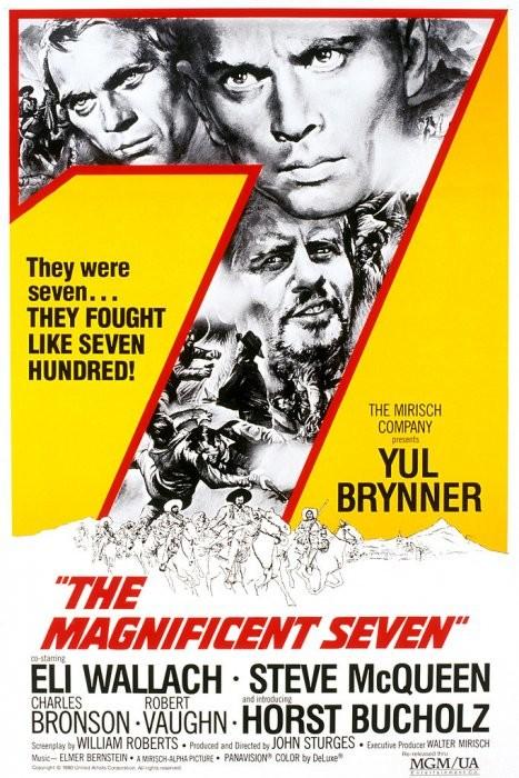 Yedi Silahşörler - The Magnificent Seven (1960) - türkçe dublaj nostaljik film indir
