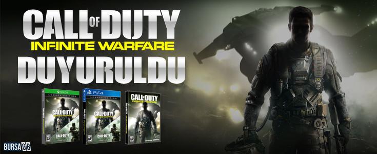 Call of Duty Infinite Warfare Duyuruldu
