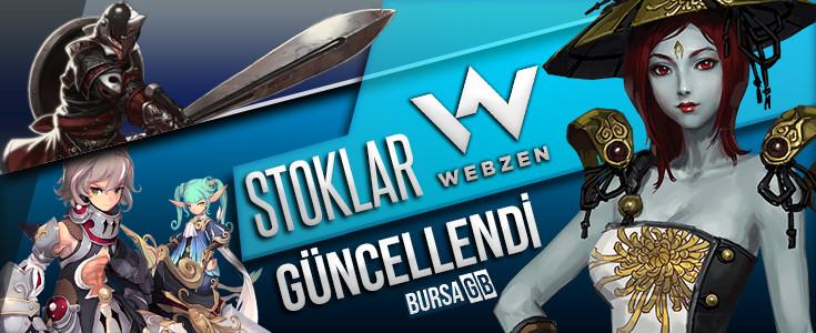 Mayıs 2016 Webzen Stok Güncellemesi