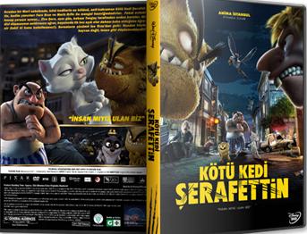 Kötü Kedi Şerafettin | 2016 | DVD-5 | Yerli Film Tek Link