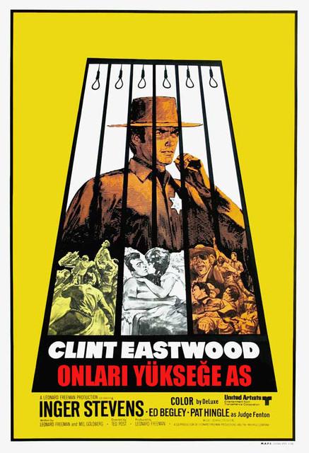 Onları Yükseğe As - Hang 'em High (1968) - türkçe dublaj film indir