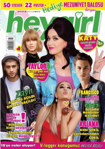 Hey Girl Mayıs E-dergi indir Sandalca.com