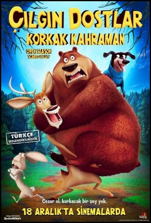 Çılgın Dostlar 4: Korkak Kahraman 2015 ( BRRip XviD ) Türkçe Dublaj  Film indir