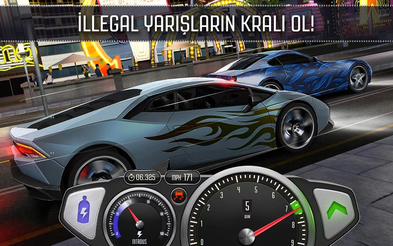 Top Speed: Drag & Fast Racing Android Oyun