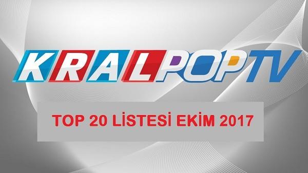 Kral Pop TV - Orjinal Top 20 Listesi Ekim 2017 Mp3 Albüm İndir