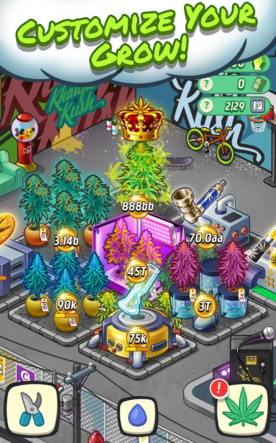 Wiz Khalifas Weed Farm Apk İndir