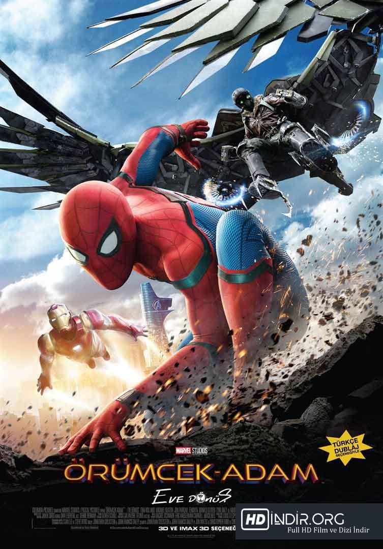 Örümcek-Adam: Eve Dönüş Spider (2017) Türkçe Dublaj HD - Film indir