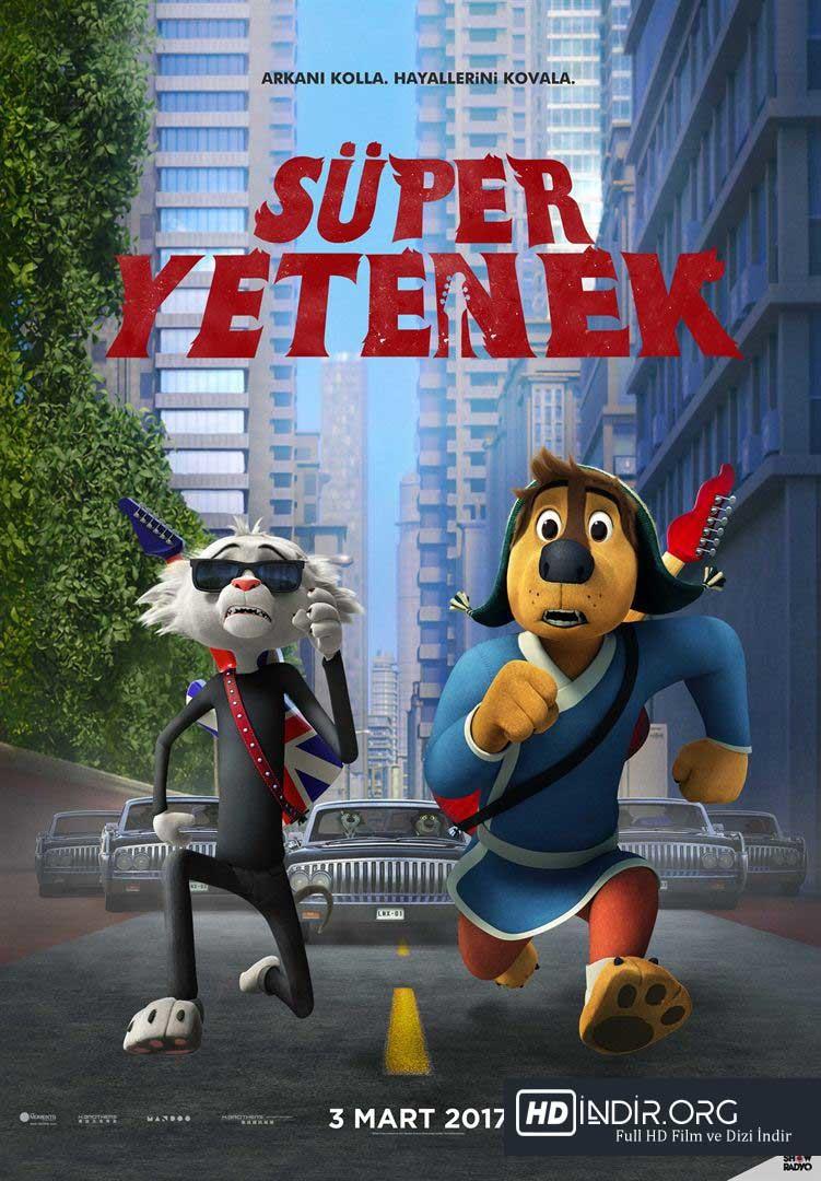 Süper Yetenek - Rock Dog (2017) Türkçe Dublaj HD - Film İndir