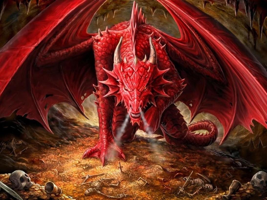 Образ дракона в гадании