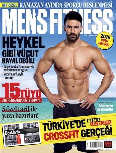 Men's Fitness Mayıs 2018