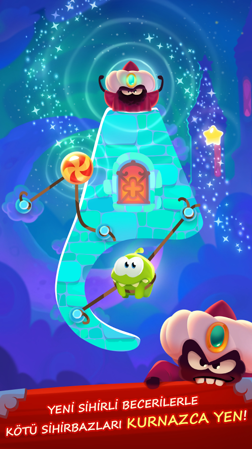 Cut the Rope: Magic Android Oyun