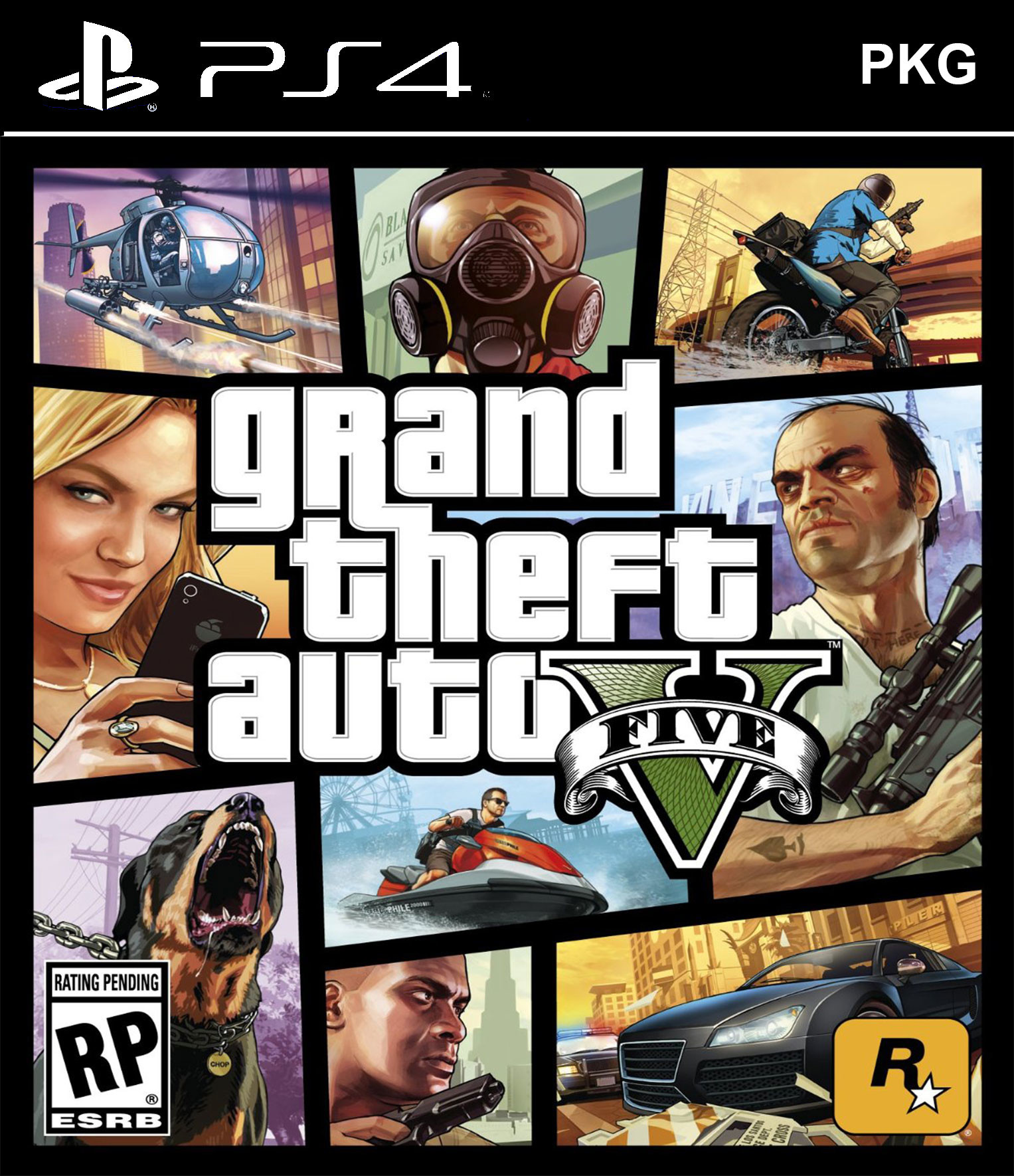 Grand Theft Auto V PKG Oyun İndir ! [4.05