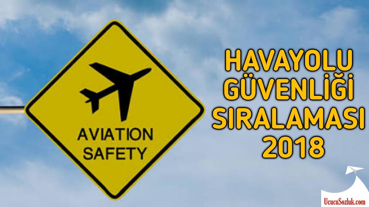 HAVAYOLU GüVENLİĞİ SIRALAMASI 2018