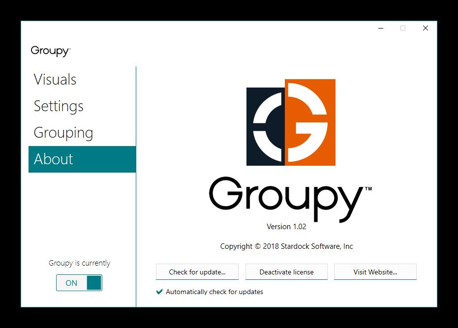 Stardock Groupy 1.18 Final | Katılımsız