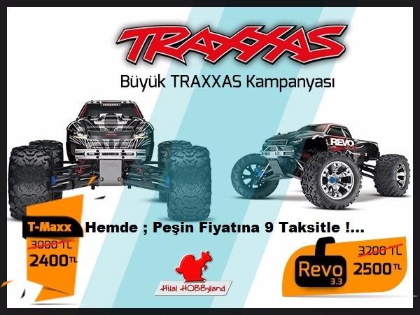 Hilalhobbyland | Traxxas Revo ve T-Maxx Kampanyası !