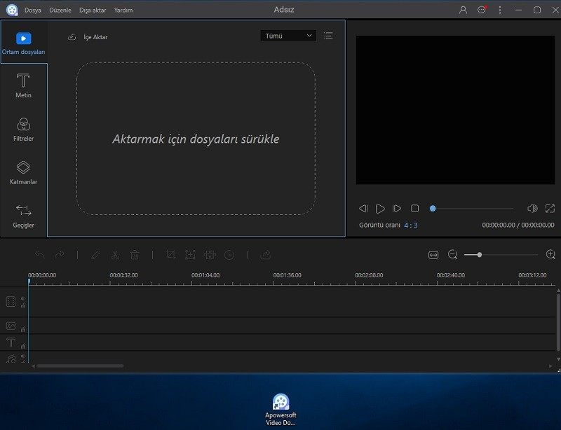 Apowersoft Video Editor 1.2.1 Türkçe | Katılımısz