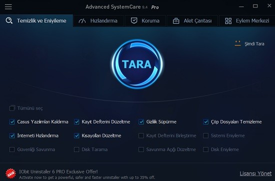 Advanced SystemCare Pro 11.2.0.212 Multilingual | Full İndir
