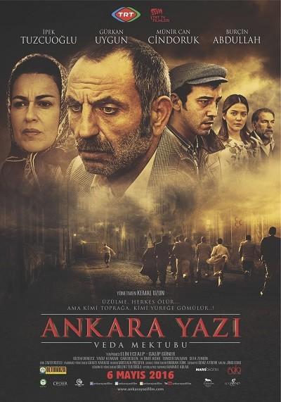 Ankara Yazı Veda Mektubu 2016 WEB-DL XviD - Yerli Film