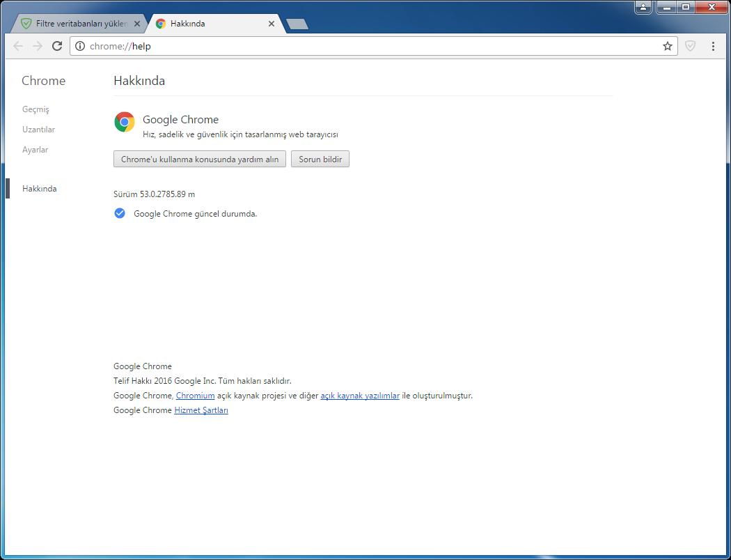 Google Chrome 63.0.3239.84 | uBlock Origin | Katılımsız