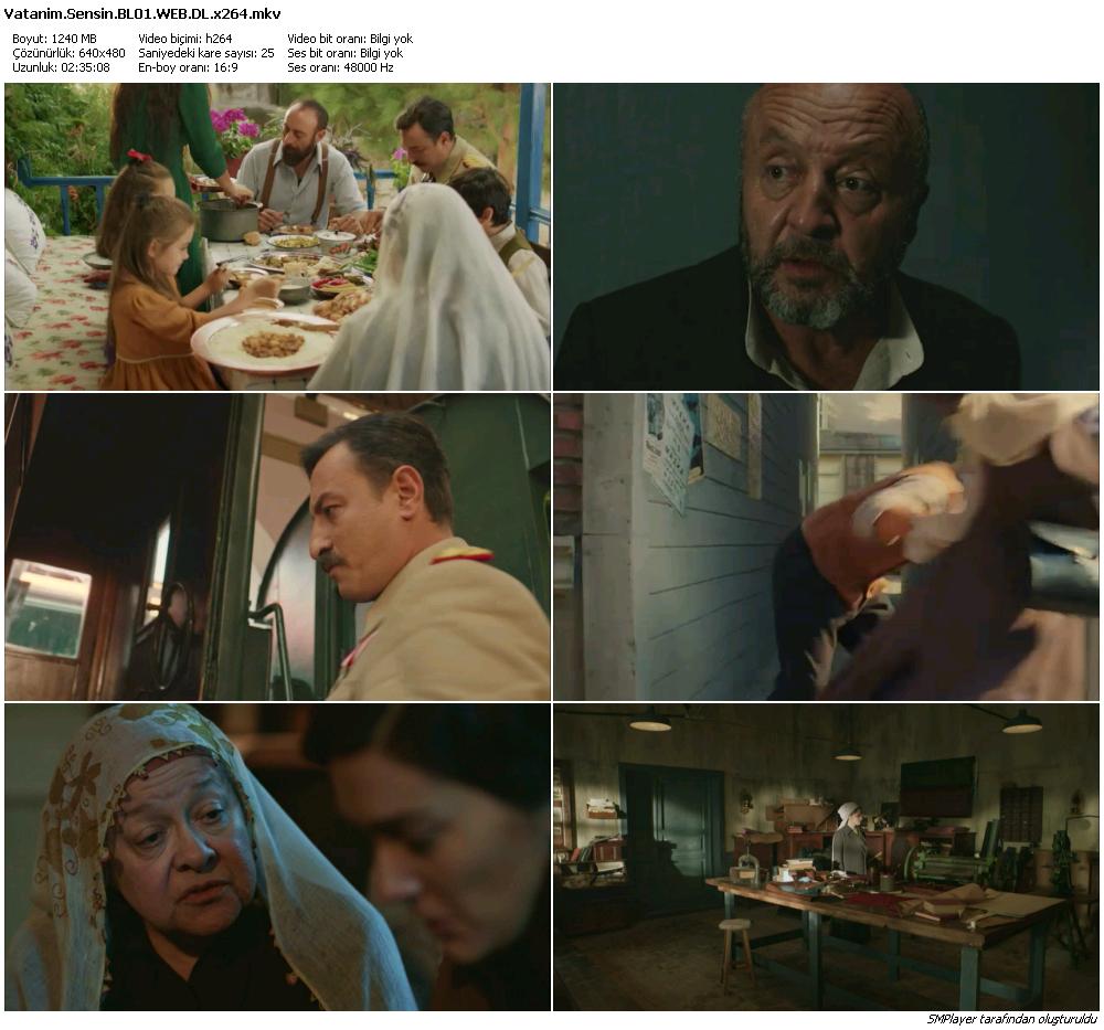 Vatanım Sensin 28.Bölüm (HD - x264 - 720p) Tüm Bölümler - VKRG