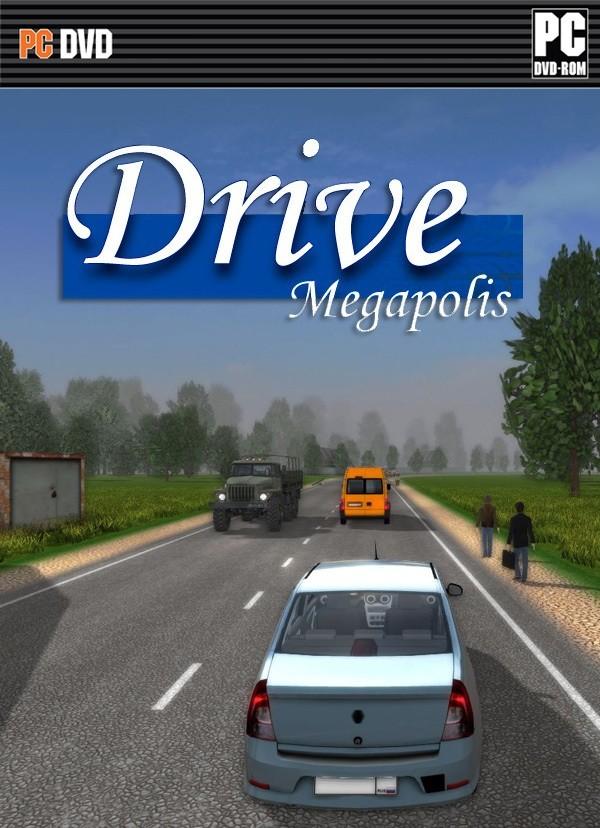 Drive Megapolis – Plaza – Full Game – Tek Link Oyun indir