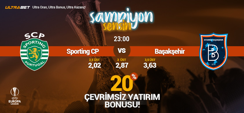Sporting CP - Başakşehir Canlı Maç İzle